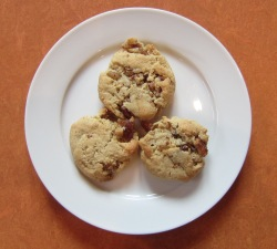 World's Easiest Cookies. They really are. And with cooked bacon....a welcome addition!